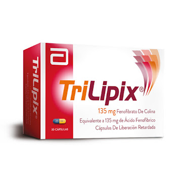 Trilipix 135Mg Cápsulas   Caja X30Cap Abbott Fenofibrato Colina