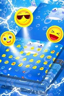 Emoji 2017 Modrá klávesnice - náhled