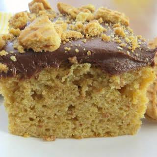 Peanut Butter Bomb Cake.