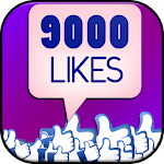 9000 likes for Fb Liker tips APK