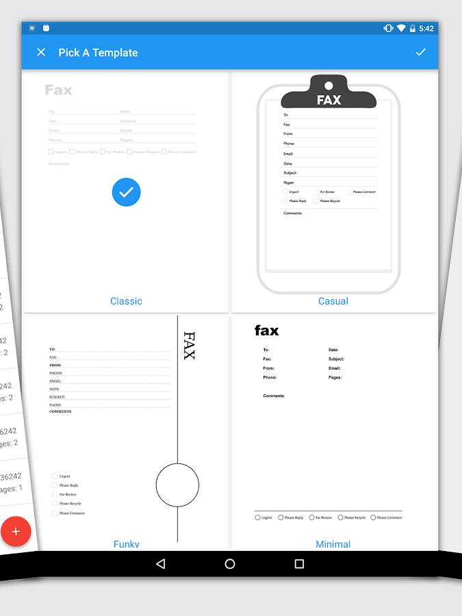 iFax: Fax & Receive Faxes FREE- screenshot