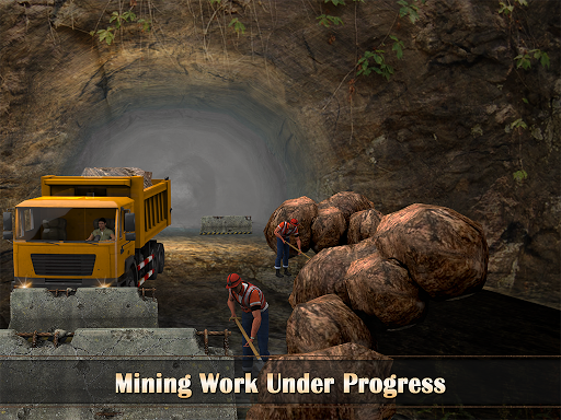玩模擬App|山のドリルトラックの運転手免費|APP試玩