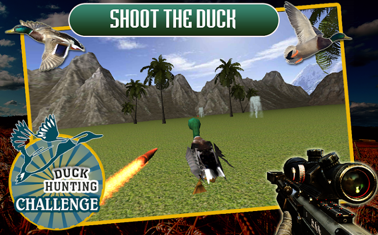 android Duck Hunting Challenge Screenshot 1
