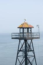 Photo: Alcatraz guard tower