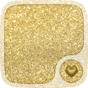 Gold Hearts Wallpaper icon