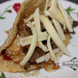 Steak and Potato Tacos.