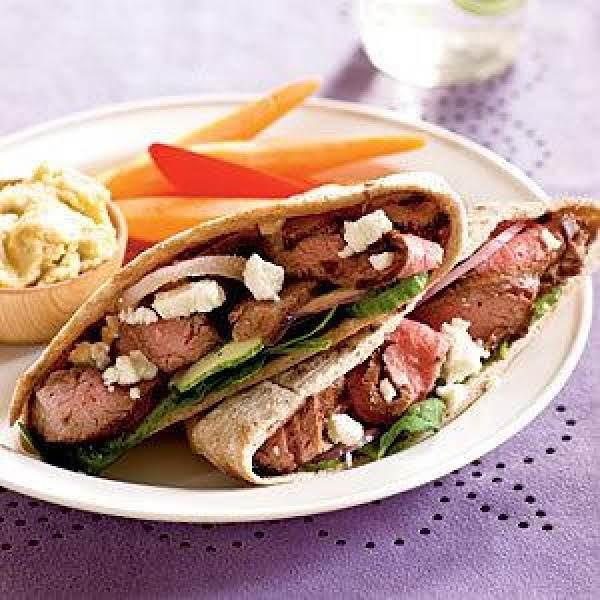 Lamb Pitas Recipe