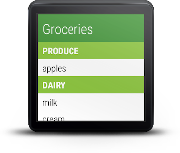 Our Groceries Shopping List- screenshot thumbnail