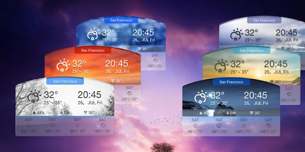 3D Daily Weather Forecast Free screenshot 0