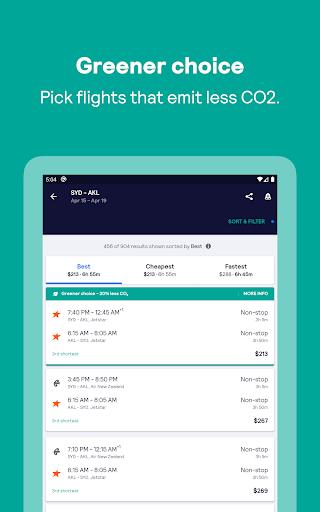 Skyscanner – cheap flights, hotels and car rental screenshot 13
