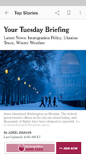 NYTimes - Latest News- screenshot thumbnail