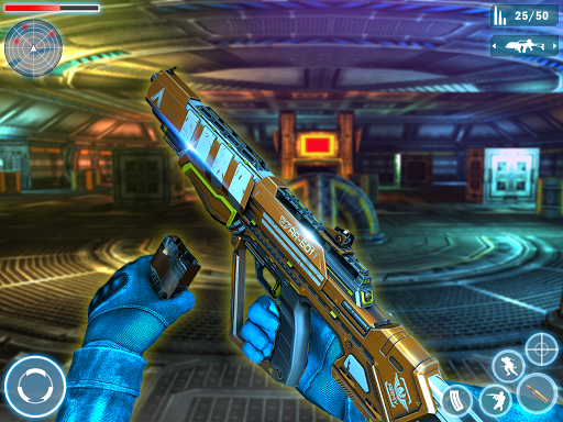 Robot Shooting FPS Counter War Terrorists Shooter 2.8 screenshots 8