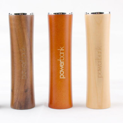 Wooden Power Bank Chargers