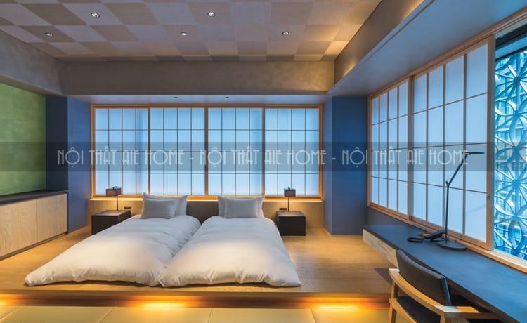 Thiết kế Spa mang phong cách truyền thống đơn giản nhưng rất đẹp.