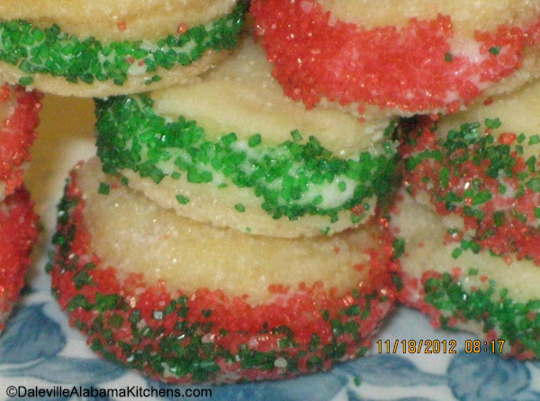 Creme Wafer Cookies For The Holidays Recipe
