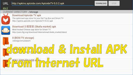 Smart TV APK downloader  screenshots 1