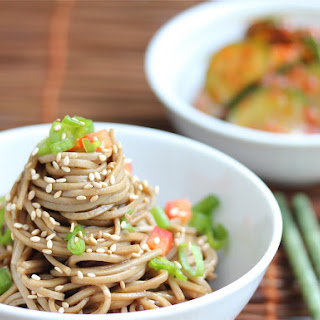 Cold Chinese Sesame Noodles