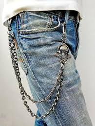 Image result for biker wallet chains