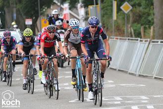 Photo: 24-06-2017: Wielrennen: NK weg beloften: MontferlandFabio Jakobsen (SEG Racing Academy) in kopgroep met o.a. Jaap de Jong (Chambery Cyclisme Formation) en Pascal Eenkhoorn BMC Development Team)