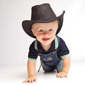 Cowboy baby by Anco Pretorius - Babies & Children Toddlers