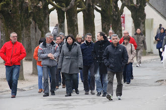 Photo: Arrivée à Chambord