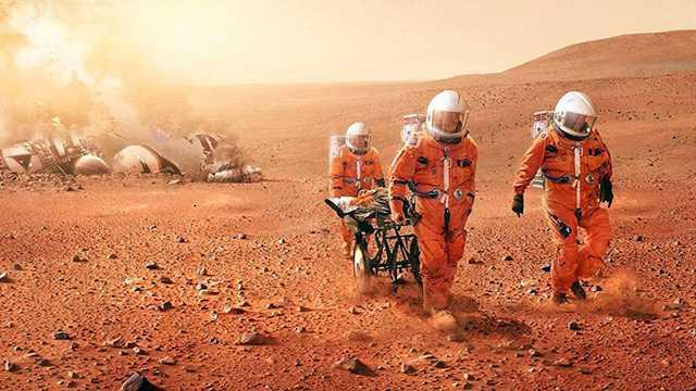 Сколько лететь до Марса времени, километров, световых лет?