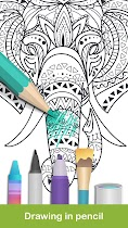 Coloring pages:Animals Mandala - screenshot thumbnail 03