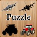 Kids Puzzle Vehicles icon