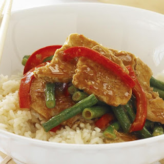 Satay Pork Stir-Fry
