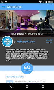 WeShareVR- screenshot thumbnail