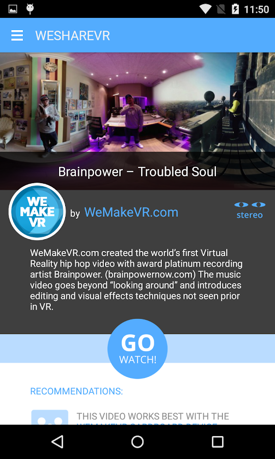 WeShareVR- screenshot