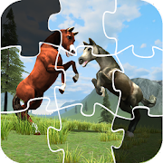 Horse Puzzle Jigsaw For Kids