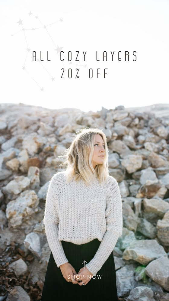 All Cozy Layers - Facebook Story Template