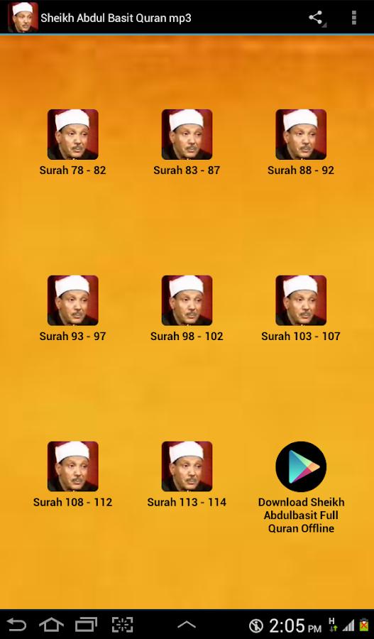 Download Abdulbasit Abdussamed Kur'an Surah 02 AL-BAKARA ...