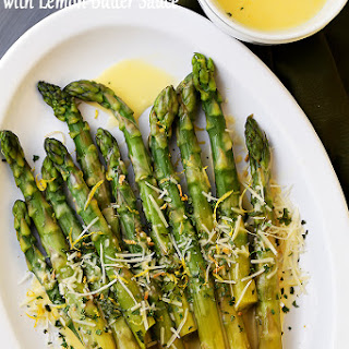 Asparagus Lemon Butter Sauce Recipes