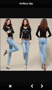 Girl Jeans Fashion - náhled