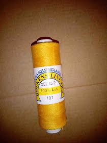 35/2 gult lingarn