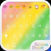 Rainbow Dream Emoji Keyboard