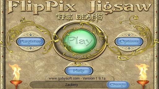 FlipPix Jigsaw - The Beans