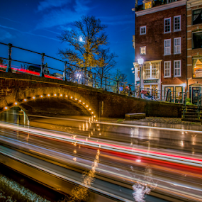 by Benjamin Arthur - City,  Street & Park  Night ( capital cities, holland, amsterdam photographer, dutch, nederlandse fotograaf )