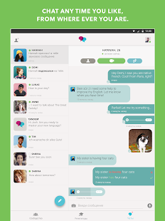 Tandem Language Exchange: Speak any language Screenshots