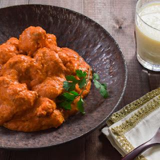 Vegan Butter Chicken.