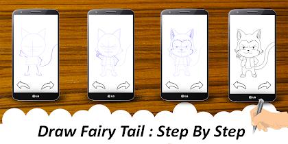 🎨 Learn To Draw fairy taile - screenshot thumbnail 02