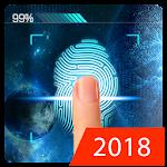Mobile Security Fingerprint Screen Lock Prank Icon
