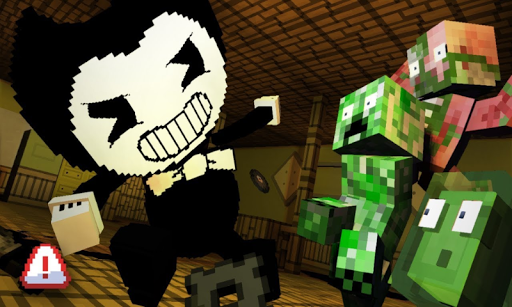 Mod Bendy Ink machine for Minecraft PE 17.7 screenshots 1