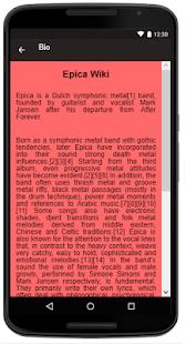 Epica Songs+Lyrics - náhled