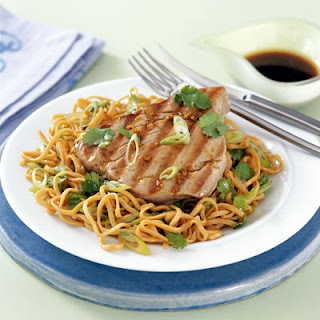 Seared Tuna with Ginger, Lime and Soy Dressing