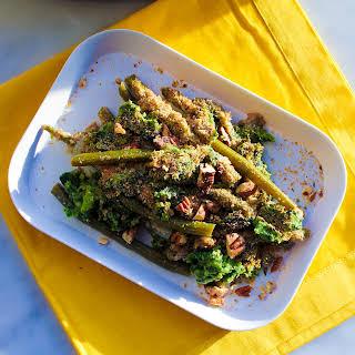 Vegan Green Bean Casserole with Super Greens.