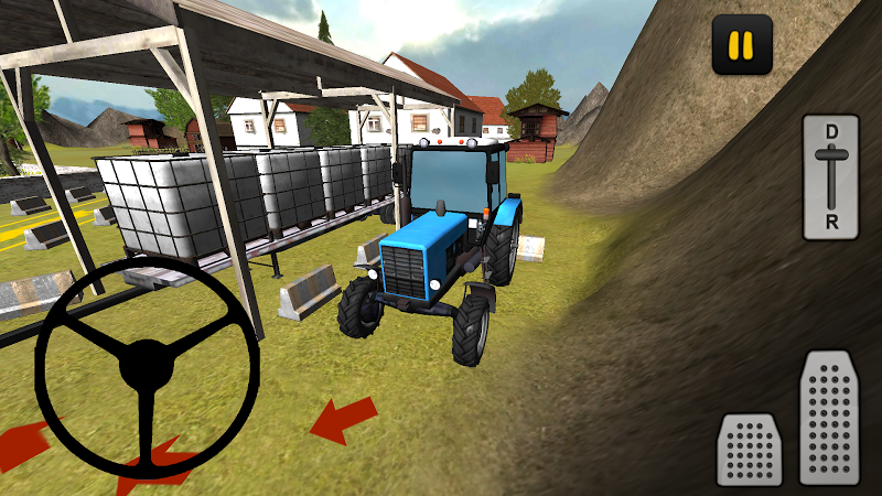 Скриншот Tractor 3D: Water Transport