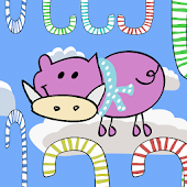 Flying Candy Pig